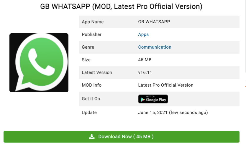 GB Whatsapp Apk Download Latest Version For Android Updated